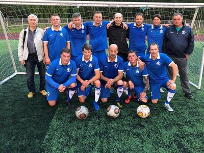 Чемпионат города Новосибирска по футболу среди ветеранских команд. 50+