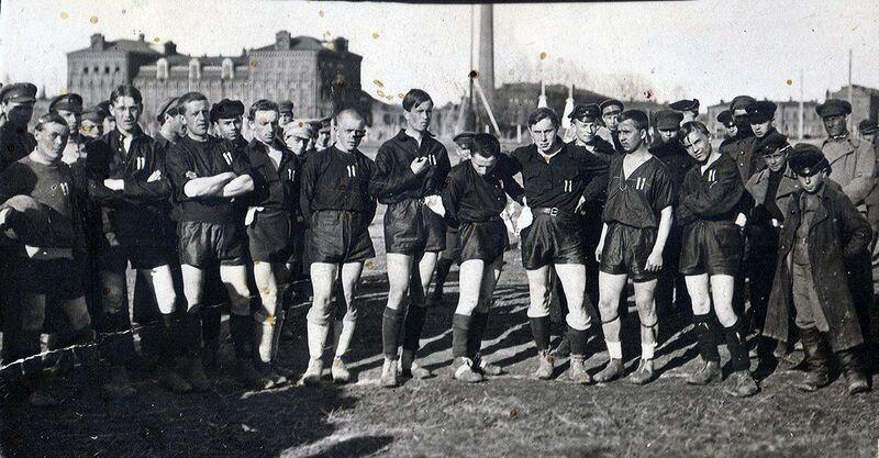 О томских футболистах - участниках войны