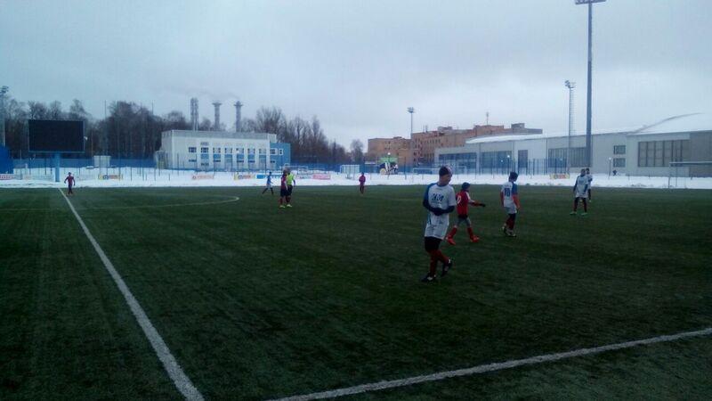 Товарищеский матч юношеских команд