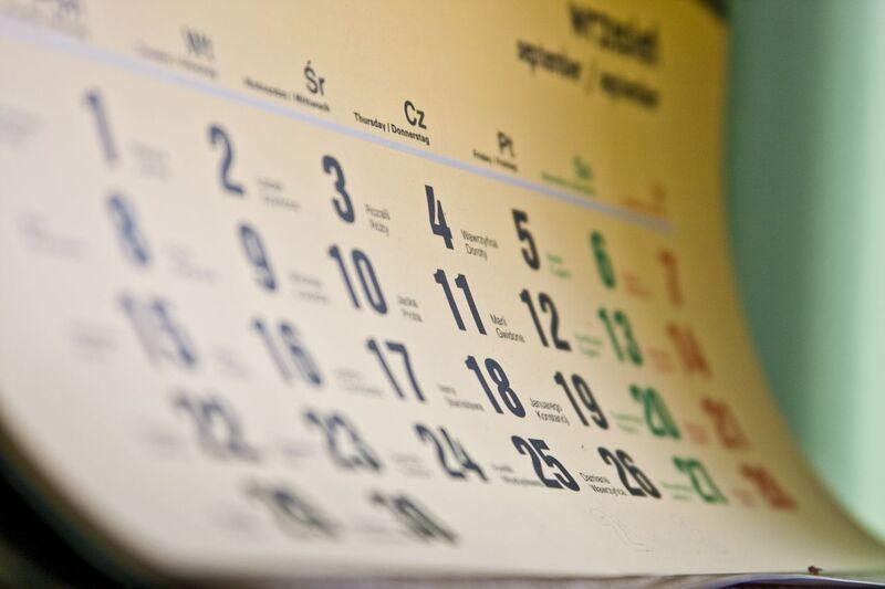 Календарный план на июнь