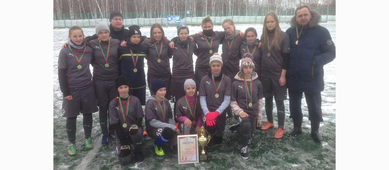 Зимнее Первенство РТ по футболу 2017 года среди команд девушек 2000-2001 г.р.