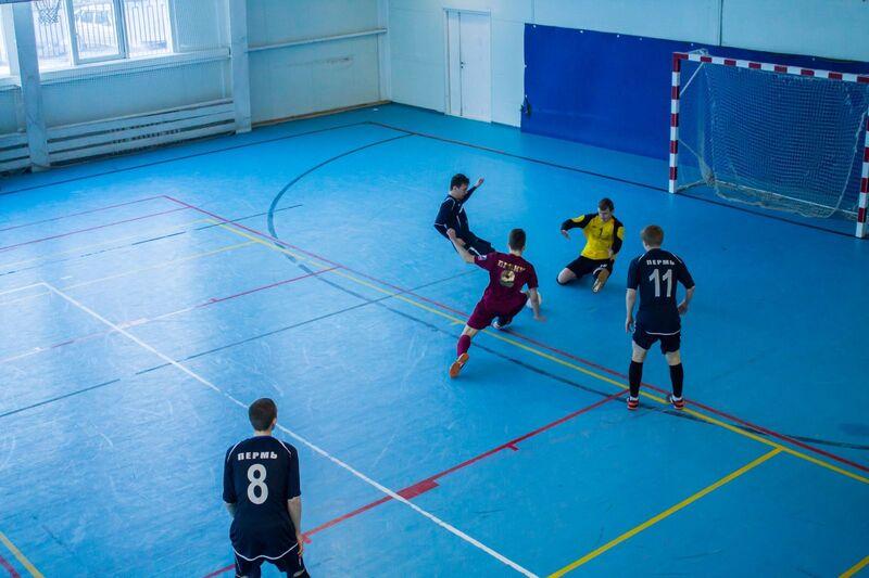 Завершился III этап соревнований по мини-футболу у студентов
