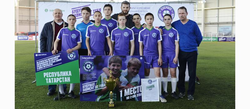 Всероссийские соревнования по футболу среди команд детских домов и школ-интернатов «Будущее зависит от тебя -2017»